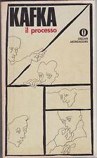 Kafka, Il processo, Mondadori, 1974, Gli Oscar, romanzo, classici, Fertonani
