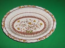 "Vintage Copeland Spode Buttercup Old Mark 10"" Oval Serving Veggie Bowl NICE"