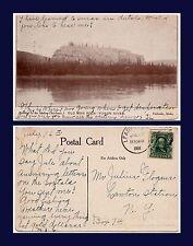US ALASKA YUKON RIVER OLD MAN ROCK NEAR FAIRBANKS 1908 TO LAWTON STATION NY