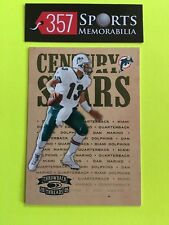 2005 DONRUSS THROWBACK THREADS CENTURY STARS CS-4 DAN MARINO #D /100 SP DOLPHINS