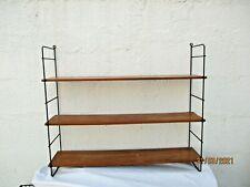 Etagere murale string nils bois metal etagere scandinave vintage design shelf