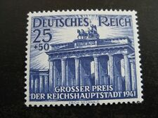 THIRD REICH 1941 mint MNH Berlin Horse Race stamp! CV $16.75