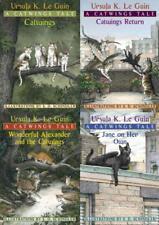Ursula K LeGuin CATWINGS Childrens Fantasy Series PAPERBACK Set of Books 1-4