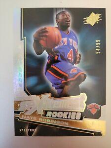 2005-06 Upper Deck SpXcitement Rookies Spectrum Nate Robinson /99 Knicks