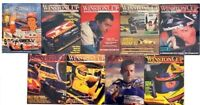 NASCAR Winston Cup Illustrated January-September 1993 (9 Issues) w/ Leather Case