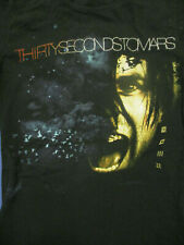 S black THIRTY SECONDS TO MARS womens fitted concert t-shirt by BAY ISLAND