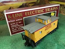 K-LINE K-619101 UNION PACIFIC CABOOSE  (EXC COND) 1992