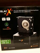 Thermaltake ST0005U BlacX 2.5/3.5inch SATA HDD eSATA/USB Docking Station
