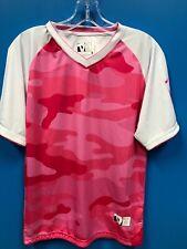 New Devlin Sport Design 100% Polyester Women's Soccer Jersey Color Pink White Sm
