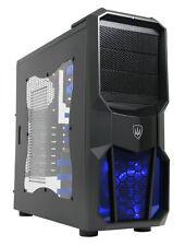 OCHW AMD 4.2 Quad Core 8gb 1tb Desktop Home Gaming PC Computer ATI Usb3 Neptune