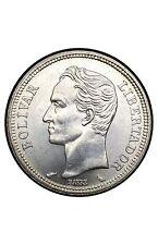 Venezuela 1 Bolivar 1960 Argent
