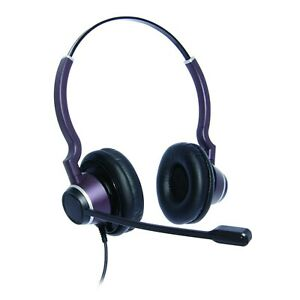 Binaural Ultra Noise Cancelling Contact Centre Headset