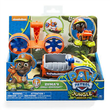 PAW PATROL VEHICLES ZUMA'S JUNGLE HOVERCRAFT TRUCK RESCUE DOG ACTION FIGURE TOY