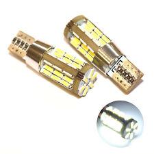 Si adatta Citroen C4 PICASSO 1.6 HDI 110 Bianco 54-SMD LED NUMERO TARGA LAMPADINE
