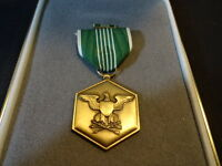 United States U.S.A. Military Merit Service Medal With Bars Ribbon & Box