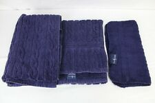 VTG RALPH LAUREN PURPLE BATH TOWEL AND WASHCLOTH