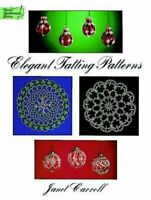 Elegant Tatting Patterns (Dover Knitting, Crochet... by Carroll, Janet Paperback