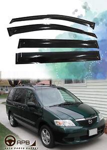 For Mazda MPV 99-06 Deflector Window Visors Guard Vent Weather Shield
