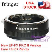 Fringer EF-FX2 PRO II AF Adapter For Canon EF Lens To Fujifilm Fuji X-T30 T4 H1