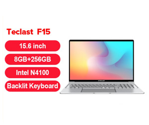Original 2021 Teclast F15 Laptop 8GB RAM 256GB SSD Notebook Backlit Keyboard