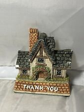 "David Winter Cottages  ""Thank You"" Gift #D1009 Enesco 1997"