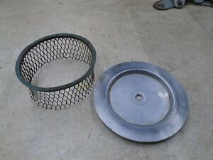 GREEVES 250 MX CHALLENGER 24MX6 Air Filter Cover Cage LOT 1968 WD RB-82