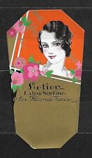 Etiquette Parfum   SUPERBE      Dim    5   X    9  Cm
