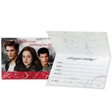 NEW Hallmark Twilight Saga Eclipse Party Invitation w/ Envelopes - Set of 8