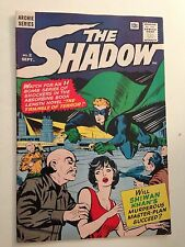 The Shadow #2/Silver Age Archie Comic Book/Vf-