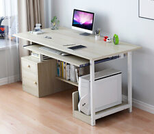 90cm Small Home Computer Desk 3 Drawers Kids Study Workstation Laptop Table