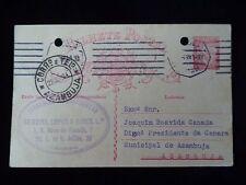 LISBON / AZAMBUJA PRESIDENT OF MUNICIPAL CHAMBER THE AZAMBUJA 1934 RARE OLD