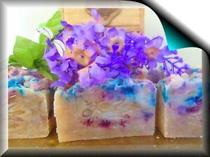 Anti-viral Patchouli Love Hippie Soap with Rice Milk  Unisex