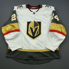 2018-19 Oscar Lindberg Vegas Golden Knights Game Used Worn Adidas Hockey Jersey