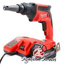Milwaukee Fuel 2866-20 18 Volt 5.0 Ah XC Brushless Drywall Screw Gun Drill Kit