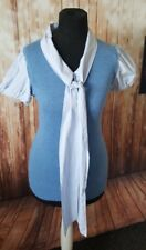 Whistles size 6 blue top