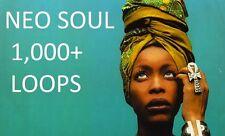 Neo Soul LOOPS Instrumentals R&B RnB FUNK JAZZ Phrases Nu Soul Hip Hop Tracks