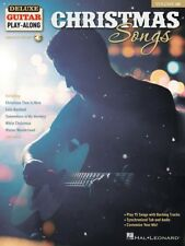 Christmas Songs Sheet Music Deluxe Guitar Play-Along Book and Audio 000278088