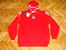 Bayern Munich Soccer Hooded Top Germany Adidas Hoody Football Sweat Shirt NEW