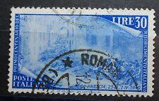 1949  Italia  30 lire Risorgimento   Usato