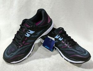 ASICS Women's GT-2000 7 Black/Skylight Running Shoes - Size 9 NWB WIDE(D)