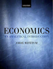 NEW Economics: An Analytical Introduction by Amos Witztum