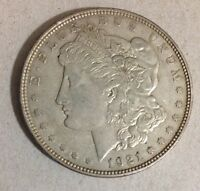 1921 D MORGAN SILVER DOLLAR COIN US MINT RARE KEY DATE ESTATE Excellent Conditio