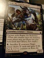 Krav, the Unredeemed and Regna, NM, MTG, EDH Commander Staple! Battlebond.