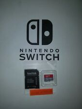 Nintendo Switch Memory Card w/ Mario Stickers & Adapter (Sandisk 64GB 95MB/s)