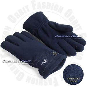Winter Thermal Gloves Fleece Insulated Warm Ski Snow Windproof Sport Men Women