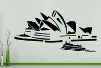 Sydney Opera House Australia Harbour Wall Art Decal Sticker Picture Poster