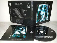 CD DIE FORM - CORPUS DELICTI 2 - LIMITED DIGIPAK