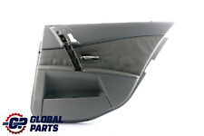 *BMW 5 Series E60 Rear Right O/S E61 Door Card Lining Leather Trim Panel Grey