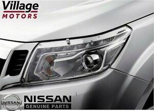 NEW Genuine Nissan Navara D23 NP300 | Headlight Protectors | B6300-4KE0AAU