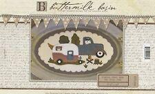 June Vintage Truck thru the Year Wool Appliqué Pattern Buttermilk Basin